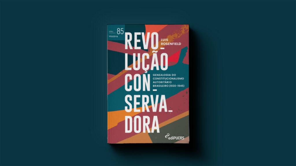 Capa do livro Revolução Conservadora